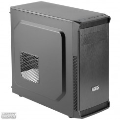 GREEN ORAMAN Plus Computer Desktop Case