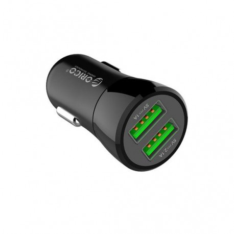 ORICO UPQ-2UDual Ports USB Car Charger-BLACK