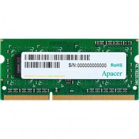Apacer DDR3 4GB -PC3L - 12800 CL11