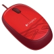 Logitech M105 Mouse - Red