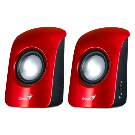 Genius SP-U115 Speaker - Red