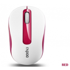 Rapoo M10 Wireless Mouse - Red