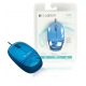 Logitech M105 Mouse - Blue