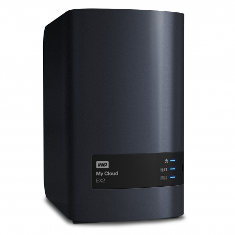 هارد تحت شبکه My Cloud EX2 وسترن دیجیتال Western Digital My Cloud EX2 Personal Cloud Storage NAS 6TB WDBVKW0060JCH-EESN