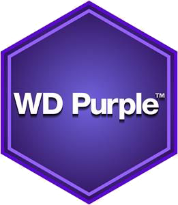 هارد وسترن دیجیتال بنفش - Western Digital Purple Surveillance Storage - 1TB