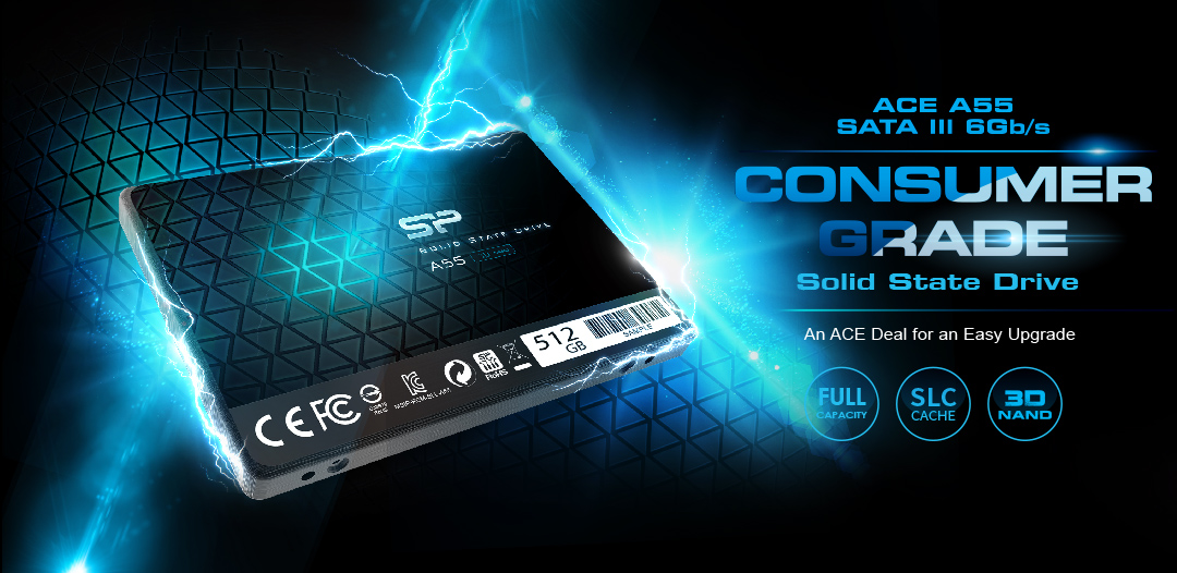 SSD سیلیکون پاور Ace A55 SATA3